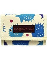 Bungalow 360 Puffer Fish Tri Fold Wallet