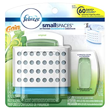 Amazon.com: Febreze Air Freshener, Small Spaces Air Freshener, with ...