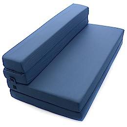 5-inch Milliard Tri-Fold Foam Folding Mattress
