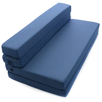 Beau Milliard Tri Fold Foam Folding Mattress And Sofa Bed For Guests   Queen  78x58x4 Inches