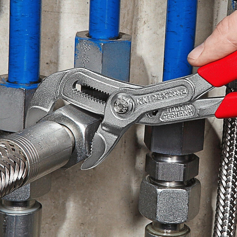 KNIPEX 87 05 300 Cobra/® Pince multiprise de pointe chrom/ée avec gaines bi-mati/ère 300 mm