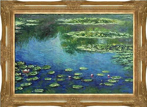 overstockArt Monet Water Lilies Painting