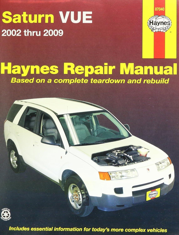 amazon com haynes 87040 saturn vue 02 07 automotive rh amazon com repair manual 2003 saturn vue v6 2003 saturn vue 2.2 repair manual used amazon