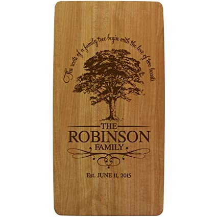 Personalized Wedding Anniversary Gifts With Family Established Year Signs Custom Tree Ours Is My Favorite
