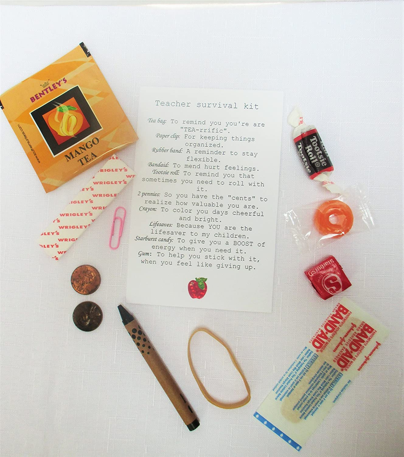 Teacher survival kit teacher gift