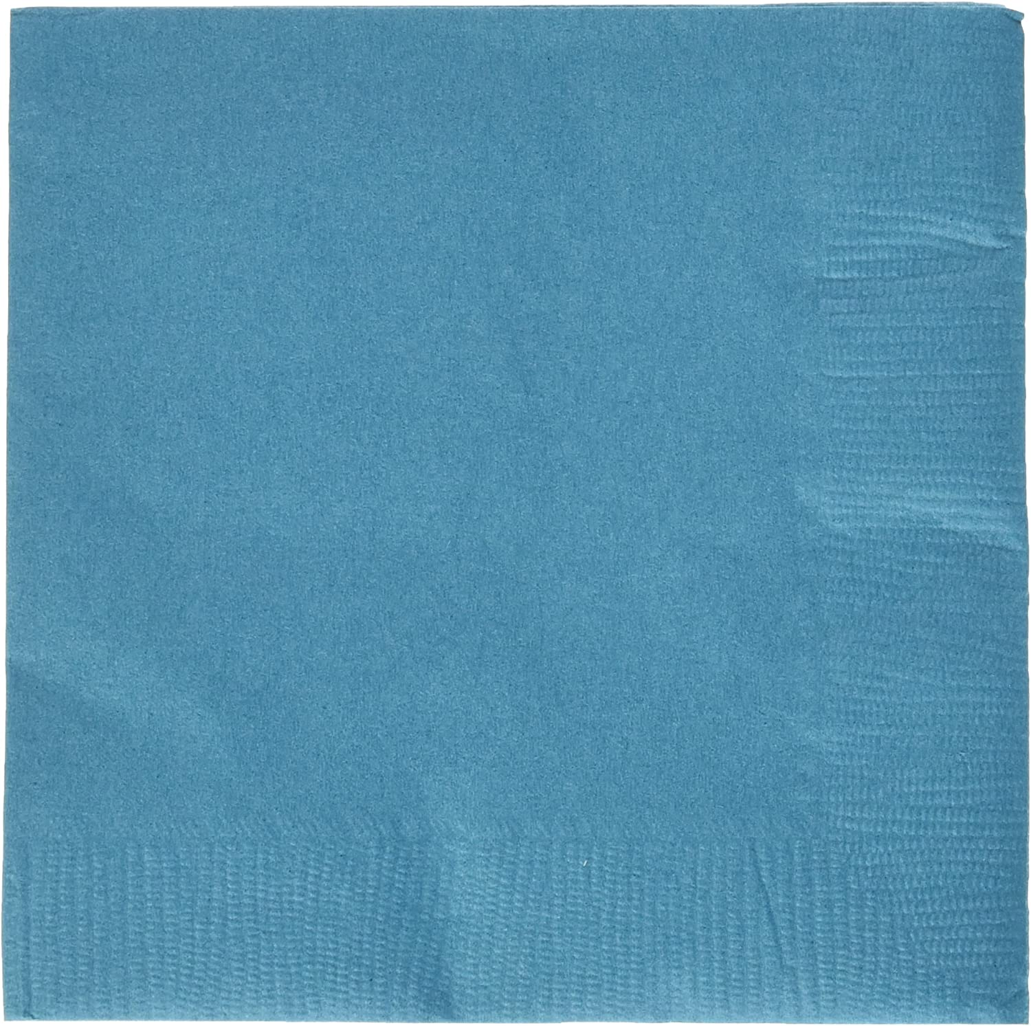 Eco Party Peacock Blue Beverage Napkins | 3-Ply | 50 pcs. |Party Supply