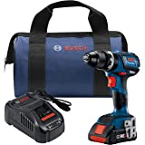 Bosch GSB18V-535CB15 18V EC Brushless Connected-Ready Compact Tough 1/2 In. Hammer Drill/Driver with (1) CORE18V 4.0 Ah Compa