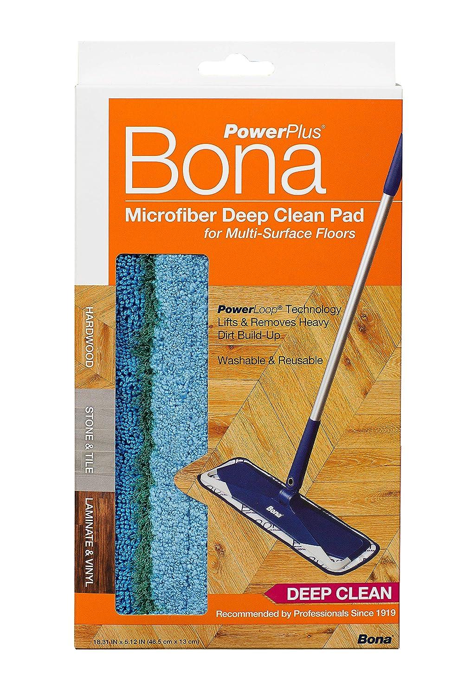 Hardwood Power Plus Deep Cleaning Pad by Bona