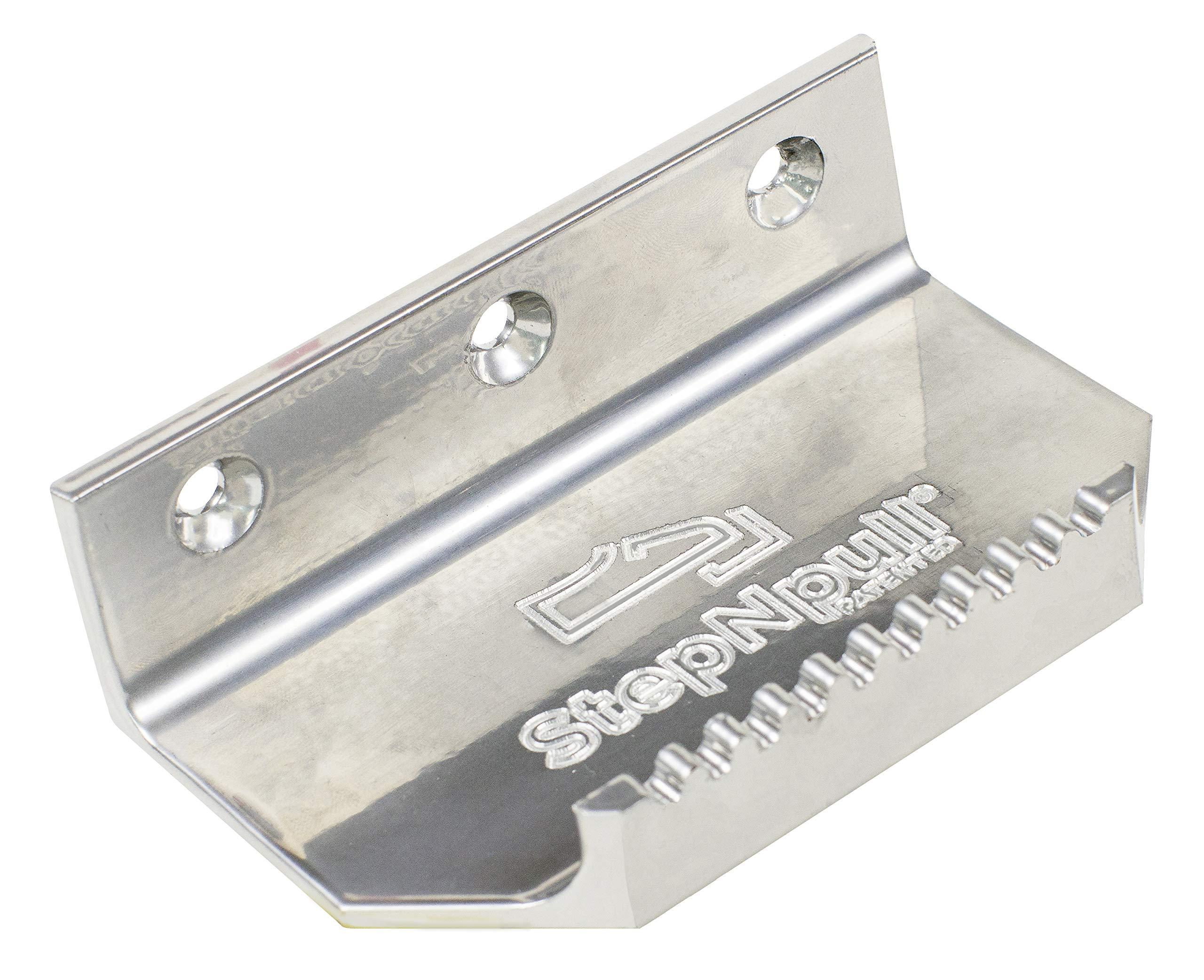 StepNpull Hands Free Door Opener - No Touch Door Foot Pull & Commercial Touchless Door Opener Tools for Bathroom (Silver-1 Piece)