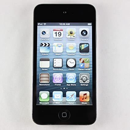Amazon Com Apple Ipod Touch 16gb Black 4th Generation Discontinued By Manufacturer Home Audio Theater