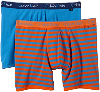 f0448a516653 Calvin Klein CK One Underwear Men's Boxer Shorts – 2 Pack Boxer Briefs -  Multicoloured -