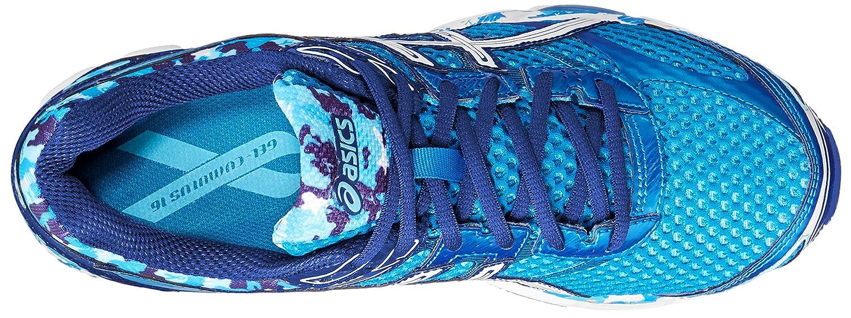 the best attitude 30536 41d19 Amazon.com   ASICS Men s Gel-Cumulus 16 BR Running Shoe, Aqua White Blue  Ribbon, 12 M US   Road Running