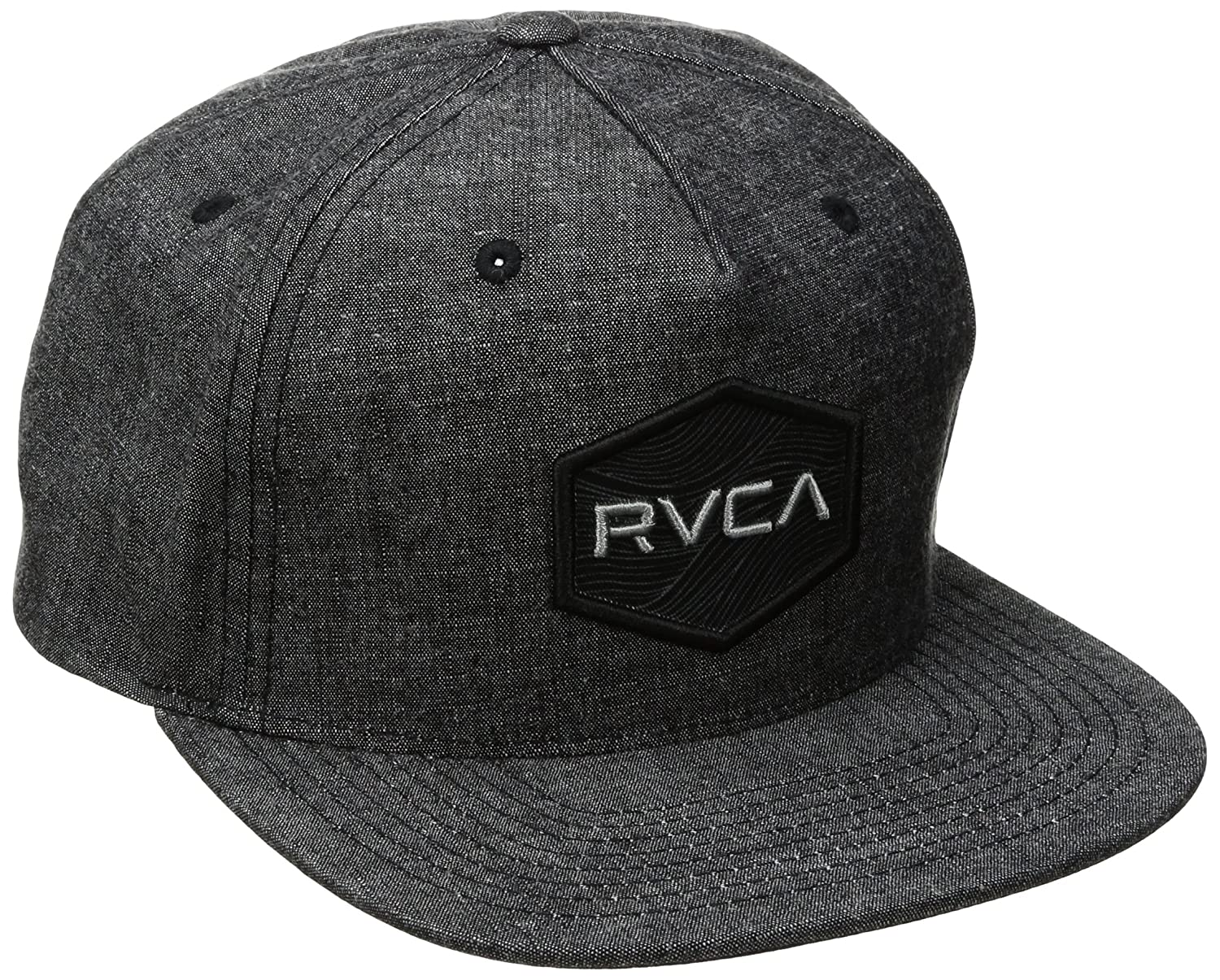 9eb9672ff83 Amazon.com  RVCA Men s Commonwealth Snapback Hat  Clothing