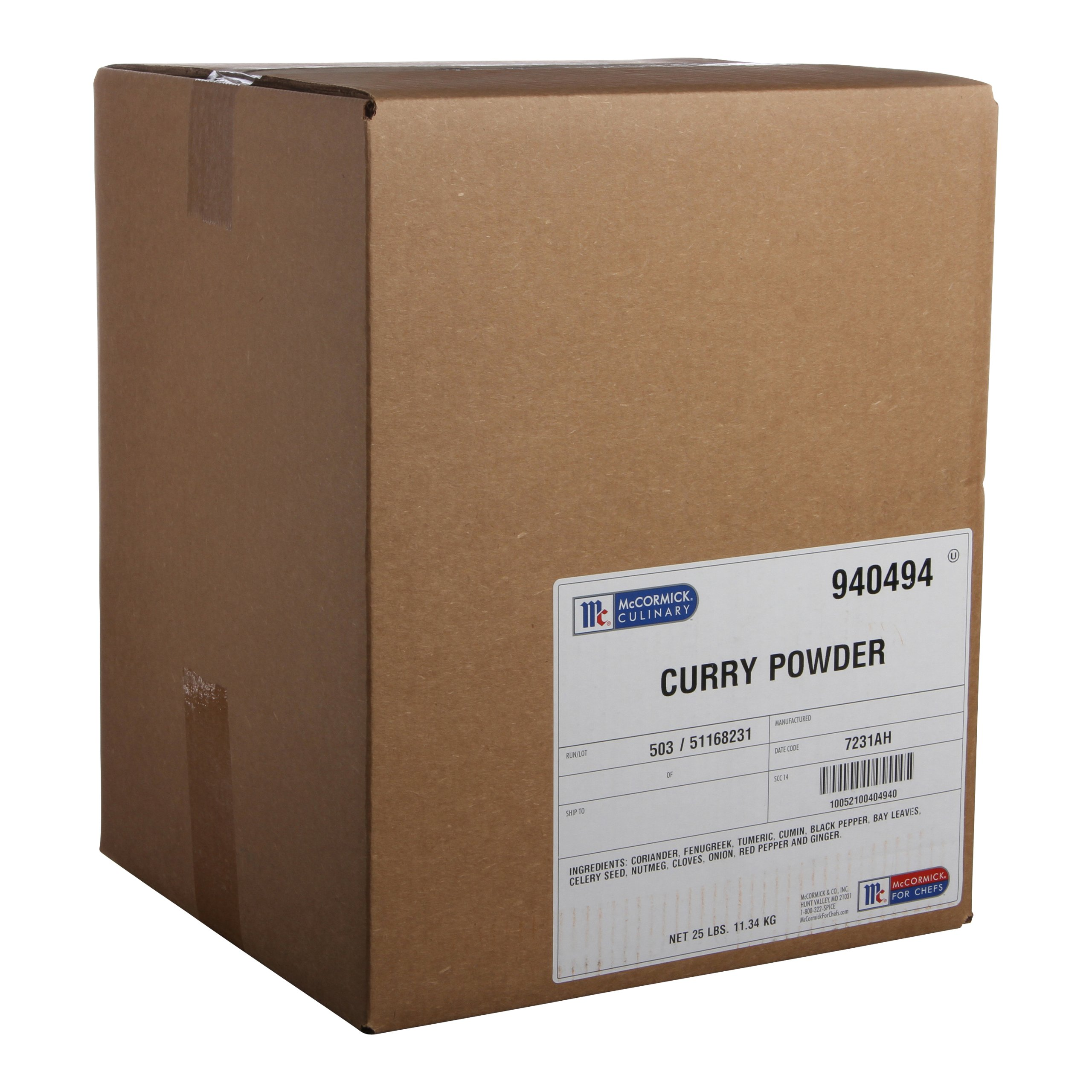 McCormick Culinary Curry Powder, 25 lbs by McCormick For Chefs (Image #1)