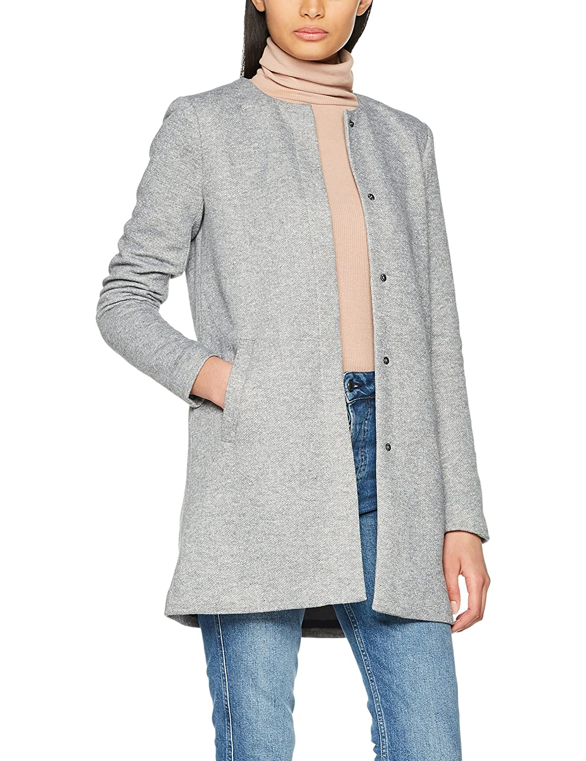 ONLY Damen Mantel Onlsidney Light Coat OTW Noos 15149365