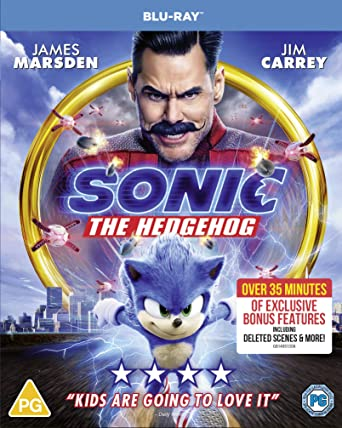 Sonic The Hedgehog Blu Ray 2020 Region Free Amazon Co Uk
