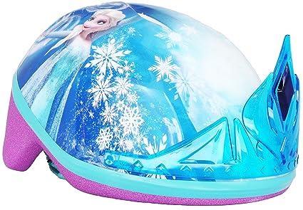 Amazon.com: Casco de bicicleta Frozen para niños de 3 a 5 ...