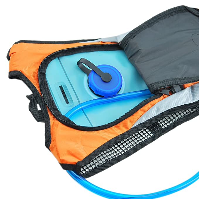 1be8c7ffb478 Zaidogear Hydration Pack with 2L Backpack BPA Free Water Bladder ...