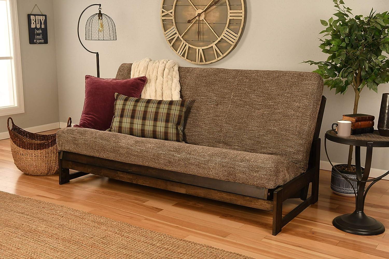 Kodiak Furniture Aspen Full-Size Futons, Handwoven Cocoa Mattress