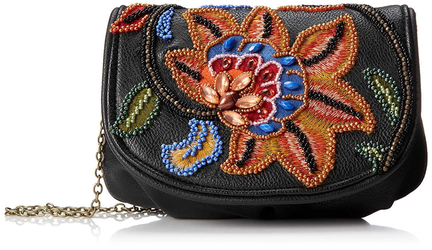 Mary Frances Mini Flower Fusion Magnetic Clutch