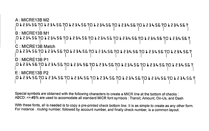 Amazon Micr Font Suite Download Software