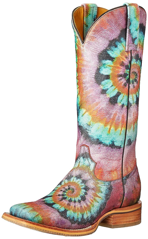 Tin Haul Shoes Women's Groovy Work Boot B01CUDCT6W 6.5 D US Multi
