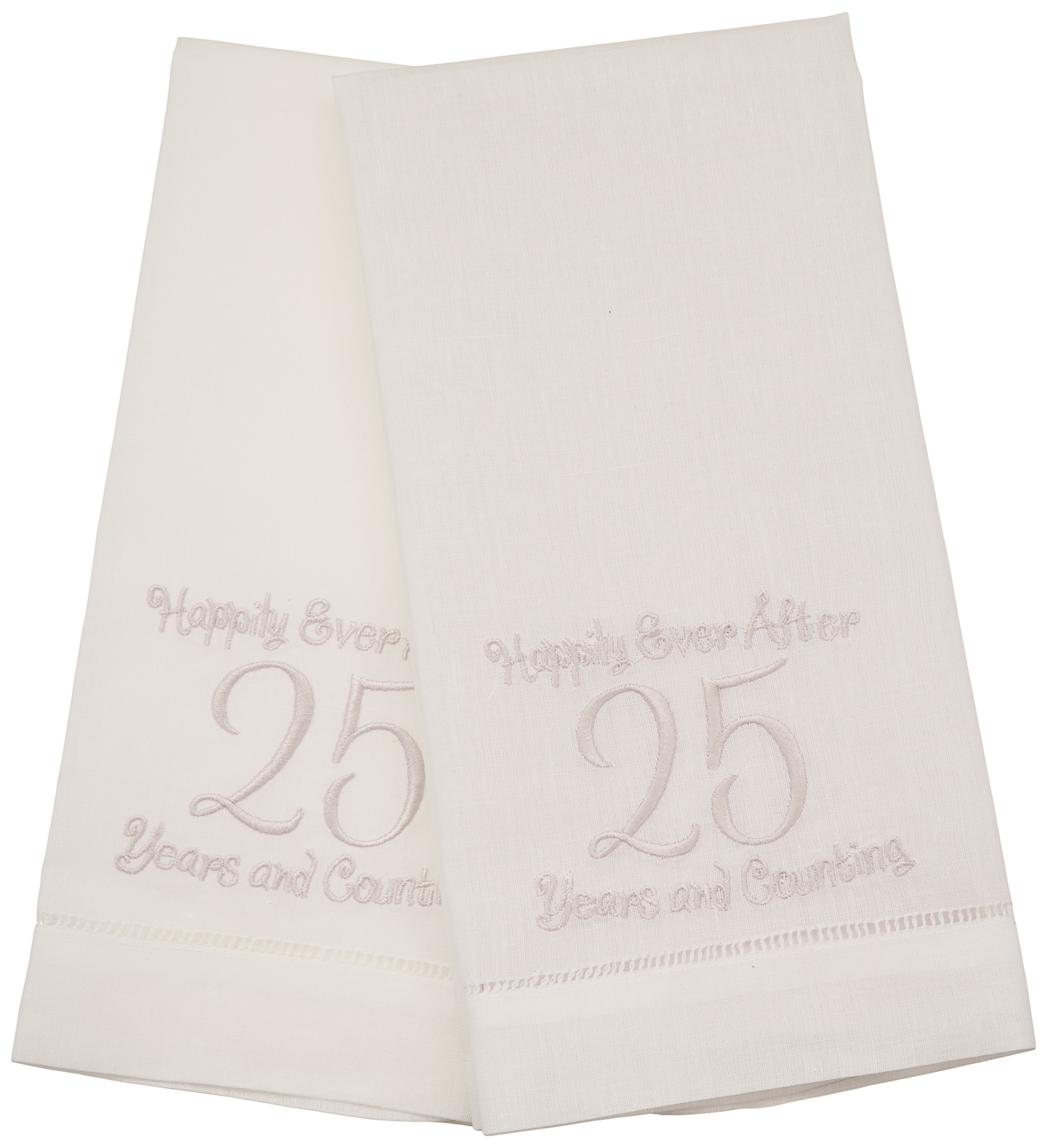 Lillian Rose 25th Anniversary Gift Towels