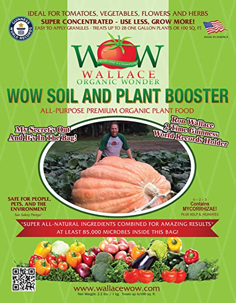 Amazon.com : Wallace Organic Wonder, Starter Pack and Soil And Plant ...
