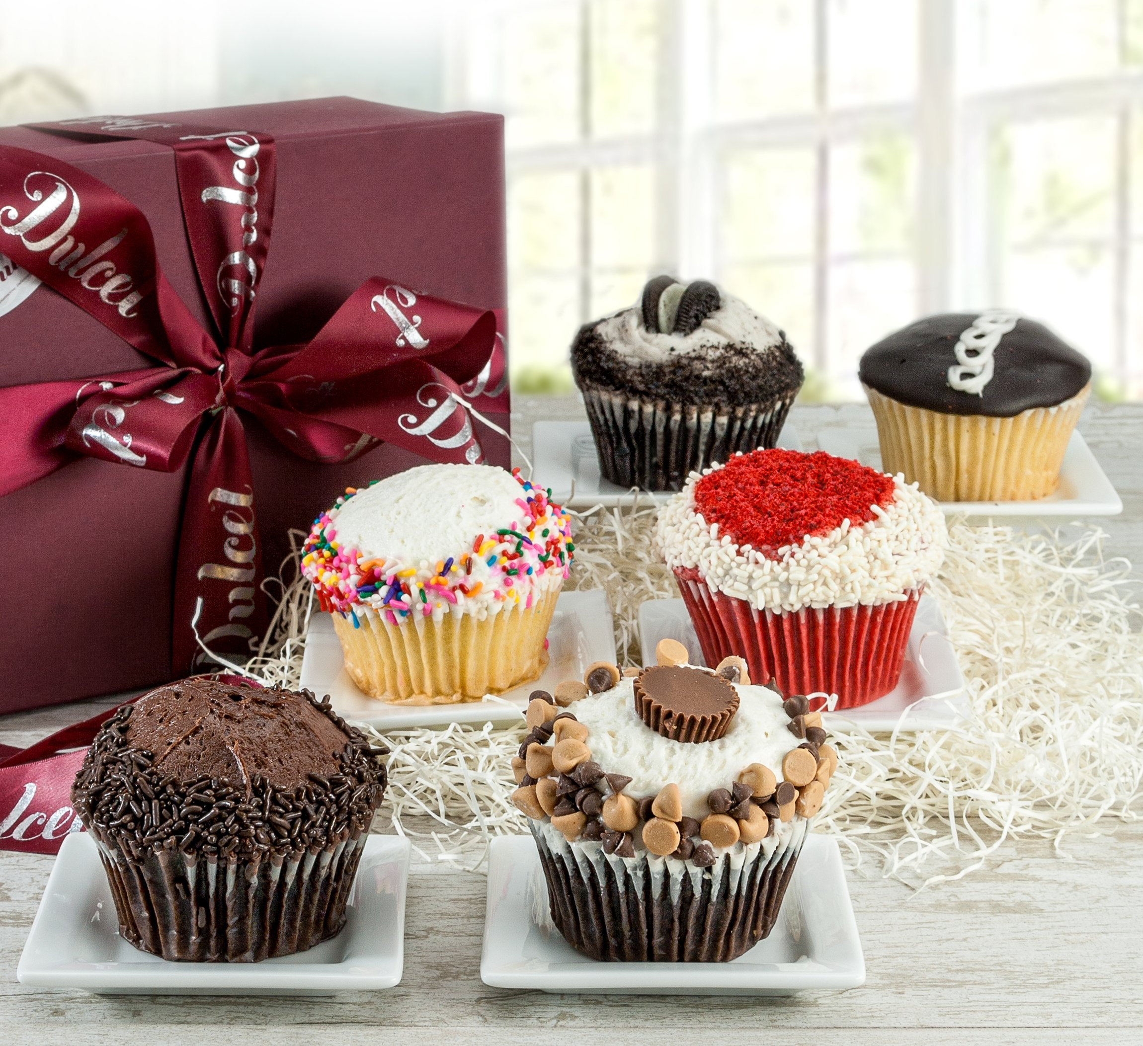 Dulcet Cupcakes Best Sellers Signature Gift Baskets by Dulcet Gift Baskets