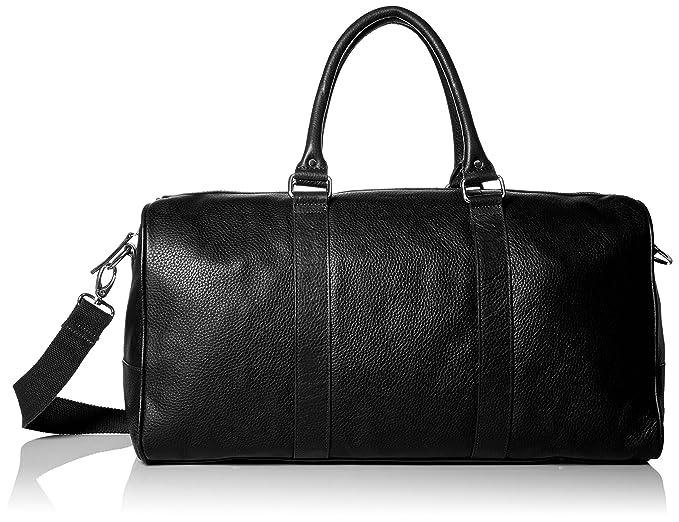 Amazon.com  Cole Haan Men s Pebble-Leather Duffle Bag 5c04bda093d48