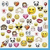 Unique Emoji Party Napkins (16 Count)