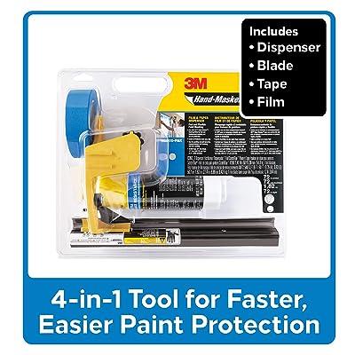3M PAK M3000 Hand-Masker Pre-Assembled Masking Film Kit: Home Improvement