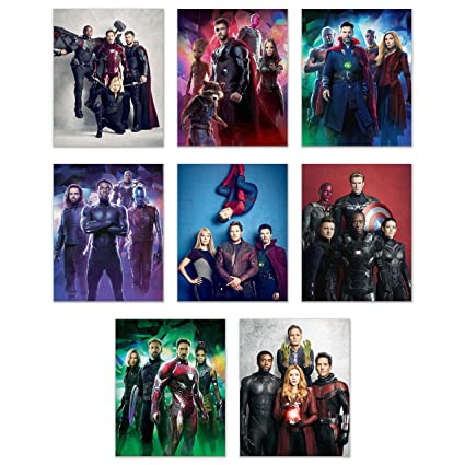 Amazon.com: Marvels Avengers Infinity War Poster Wall Decor - 2018 ...