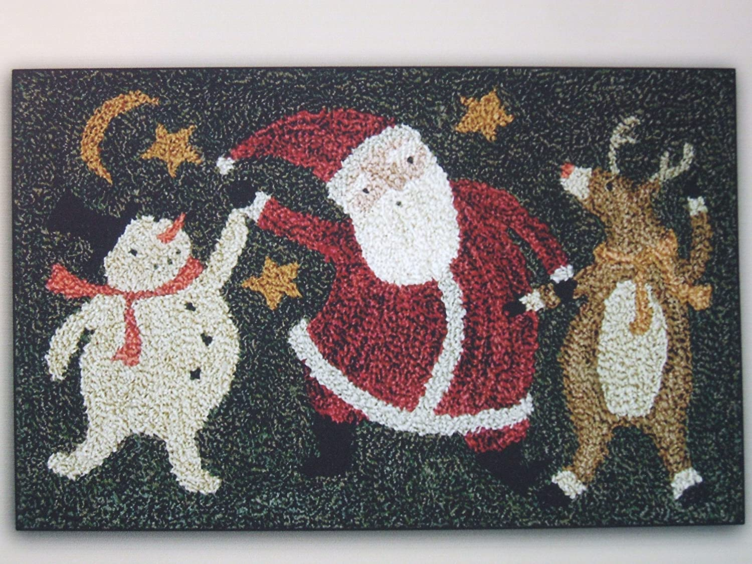 Christmas Dance PN176 Punchneedle Punch Needle Embroidery Teresa Kogut Pattern