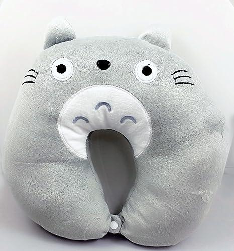 Amazon.com: Mi vecino Totoro cabeza Resto U Cuello Cojín de ...