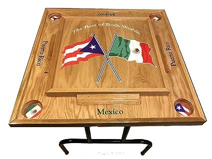 Puerto Rico Mexico Domino Table