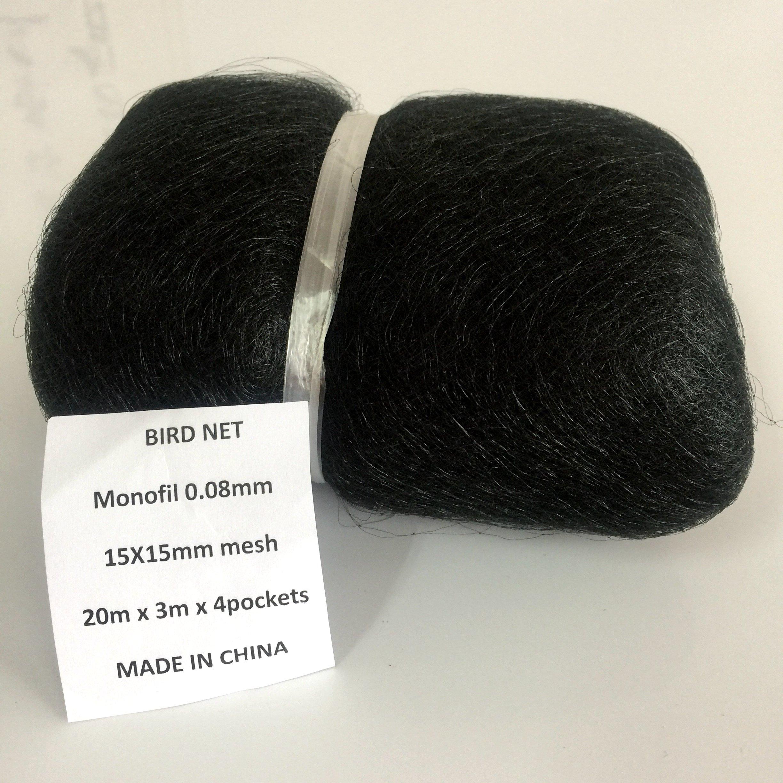 SUNSHORE Nylon 3x20m 15mm mesh size Bird Mist net Anti Bird Netting Bird Capture net Bird Catching Net 0.08mm …