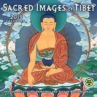 Sacred Images of Tibet 2019 Wall Calendar: Thangka Meditation Paintings
