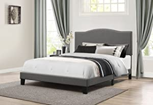 Hillsdale Furniture Kiley Bed in One Queen Stone