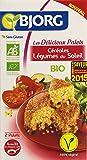 Bjorg Les délicieux Palets Céréales Légumes du Soleil Bio 200 g