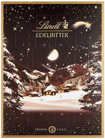 Lindor Weihnachtskalender.Lindt Sprüngli Edelbitter Adventskalender 1er Pack 1 X 250 G