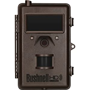 Bushnell 8MP Trophy Cam HD Wireless Black LED
