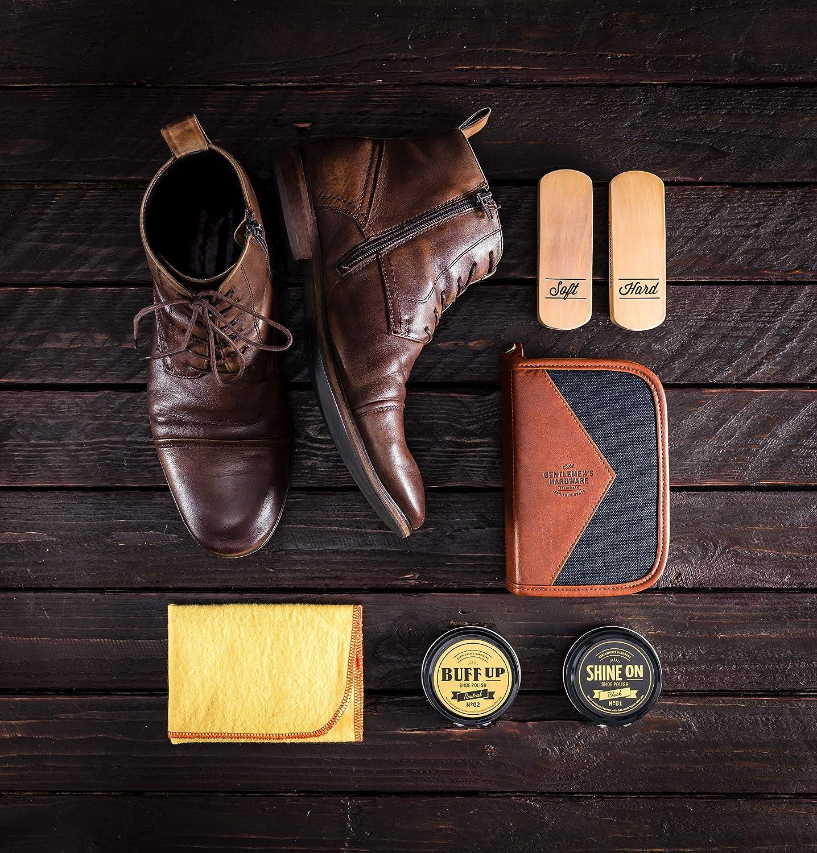 a2d66ec356 Amazon.com  Gentlemen s Hardware Shoe Shine Kit