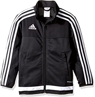 Amazon.com: adidas Men's Soccer Tiro 15 Training Jacket: Sports ...