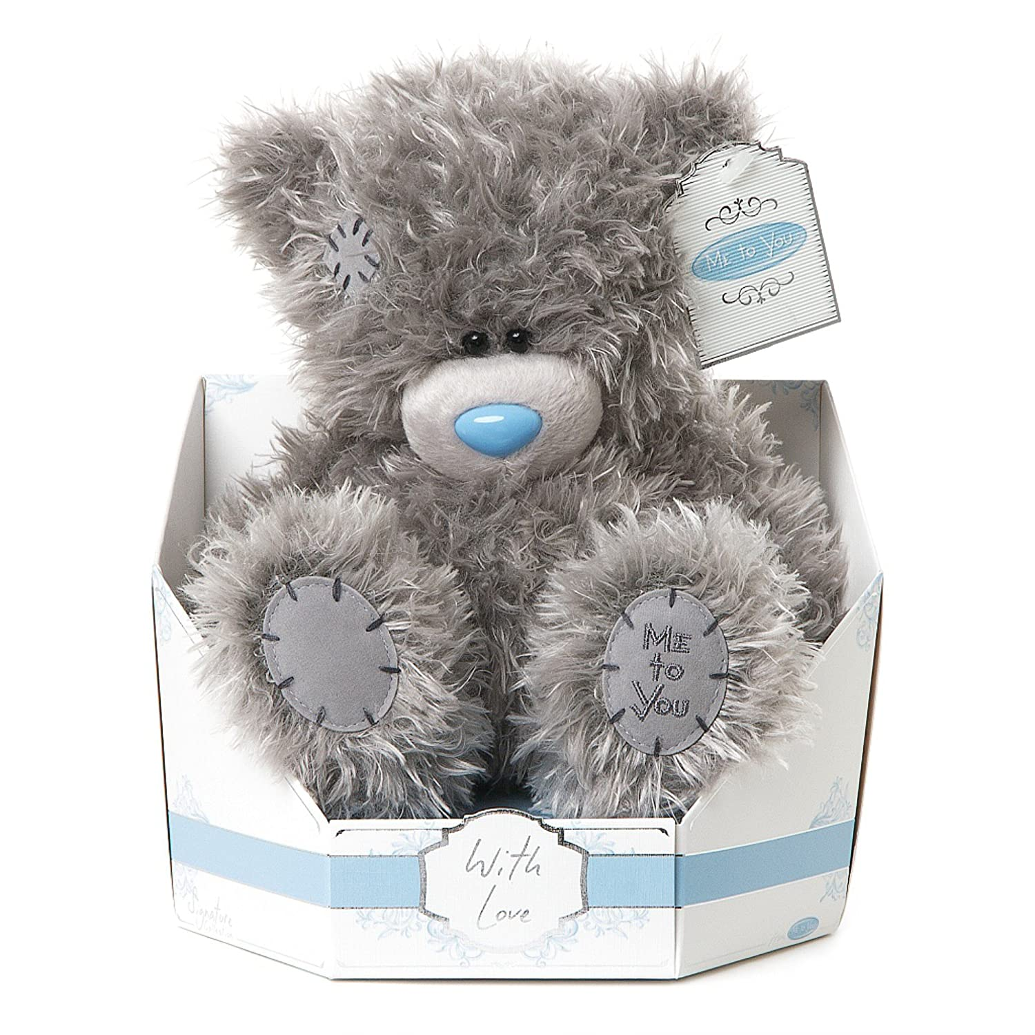 Me To You Tatty Teddy SG01 W4111, altezza 22,9 cm. Signature Collection Classic Plain Bear in zoccolo si siede Plush Toy