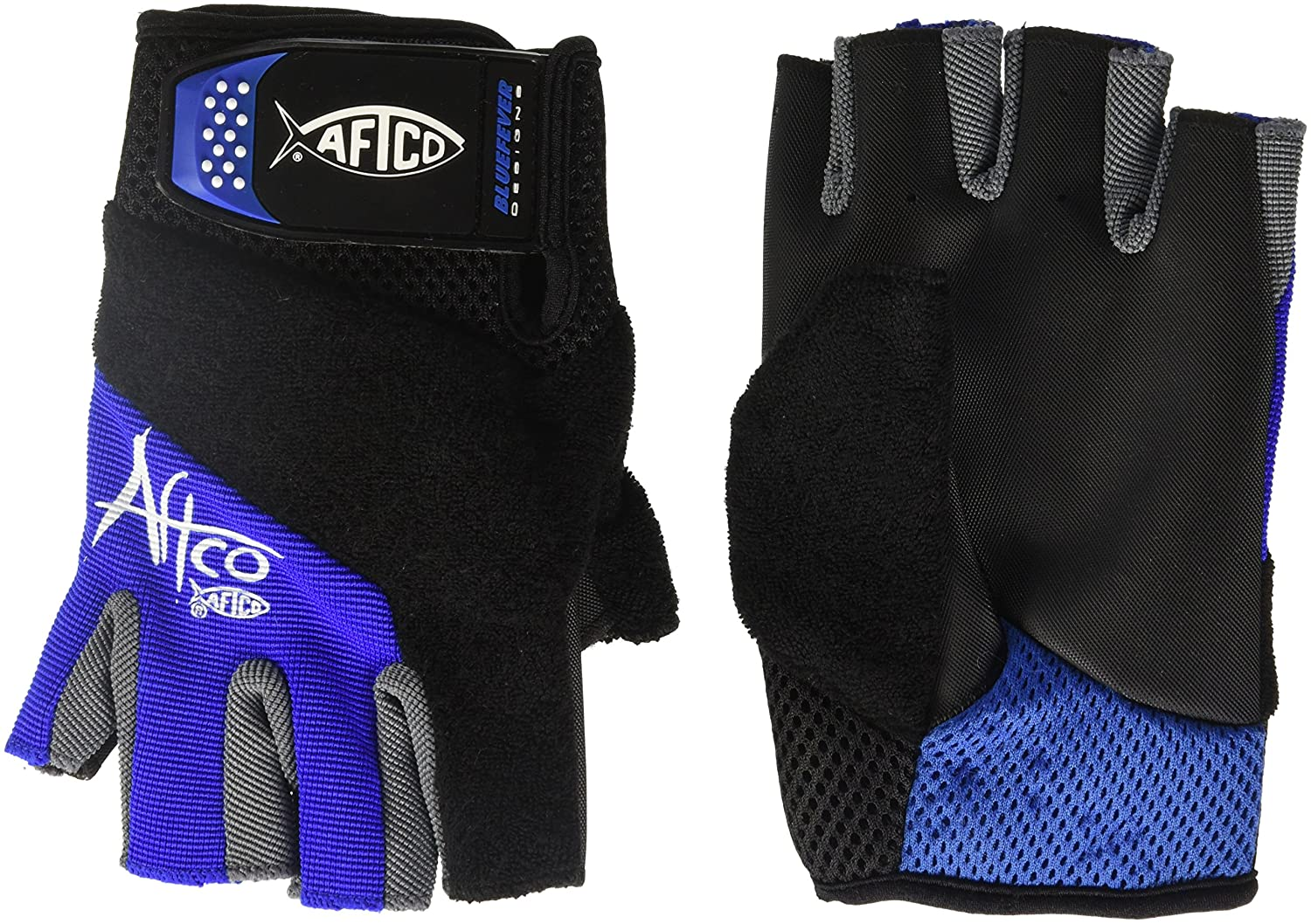 fac8e7d35 Amazon.com   AFTCO Short Pump Fishing Gloves   Fishing Gloves   Sports    Outdoors