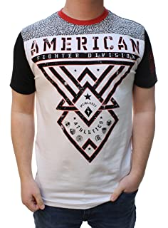 e138aec8 Amazon.com: American Fighter Men's Bellbrook Tee Shirt Black 3X ...