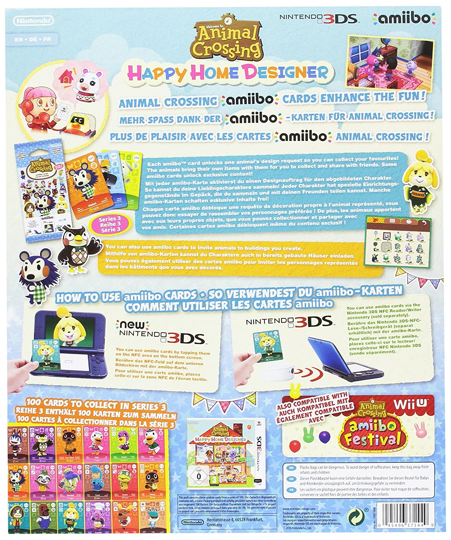 Nintendo - Pack De 3 Tarjetas amiibo Animal Crossing HHD + Álbum ...