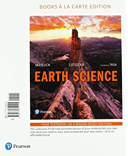 Earth science 13th edition edward j tarbuck frederick k earth science books a la carte plus mastering geology with pearson etext access fandeluxe Image collections