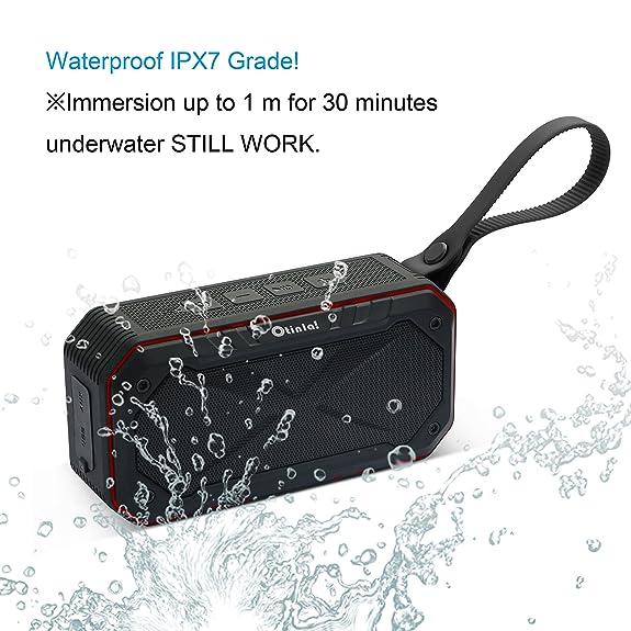 Amazon.com: Bluetooth Shower Speaker,Otinlai Bluetooth Portable ...